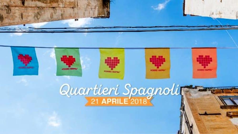 #CUOREDINAPOLI, l'edizione 2018 ai Quartieri Spagnoli