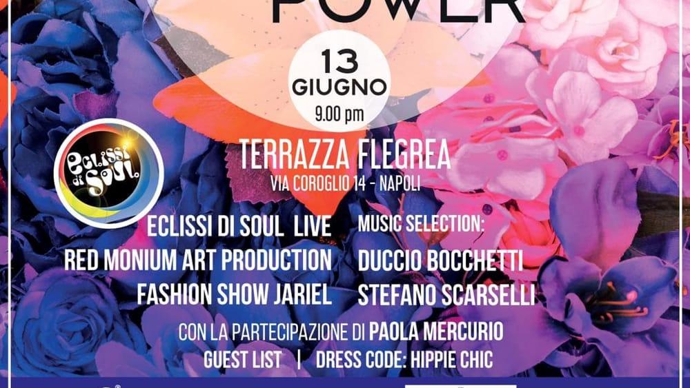 Colour Inside In Flower Power Evento Esclusivo Alla