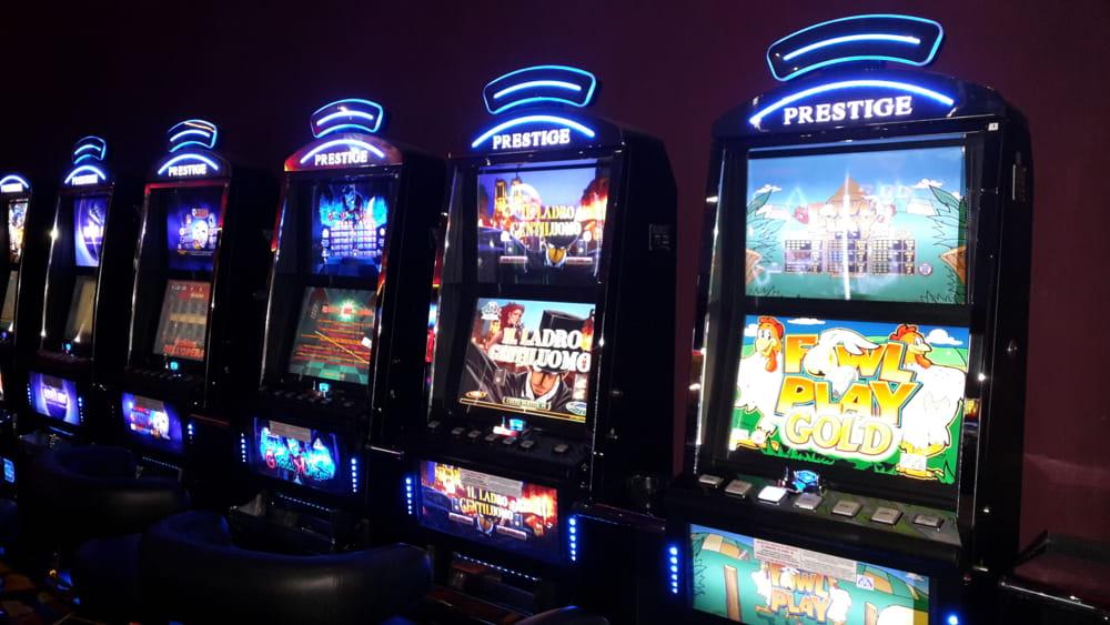Slot machine truffa