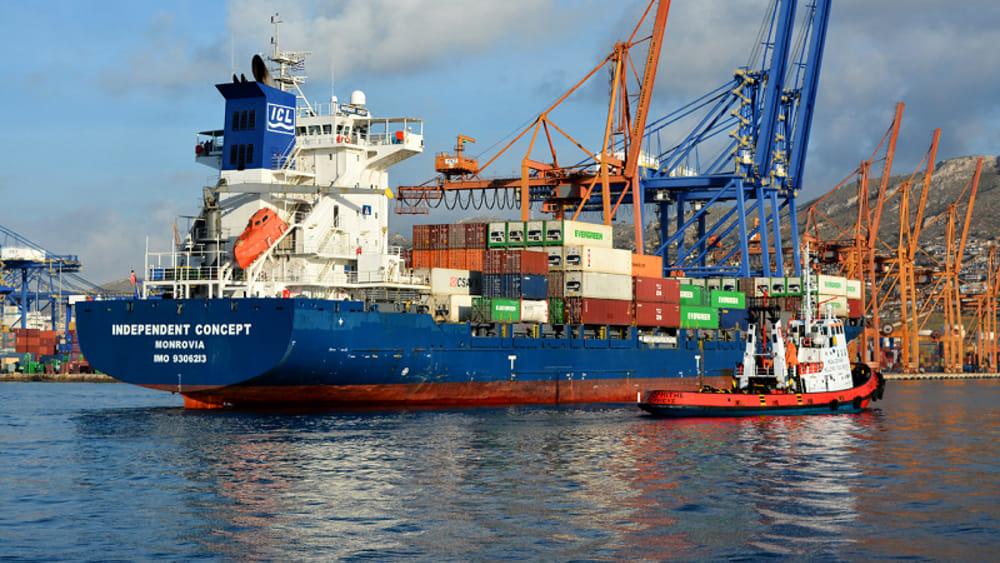 Porto di napoli stop ad una nave portacontainer battente - Porta di massa napoli ...