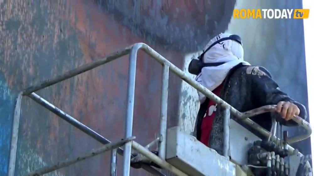Roma Vandalizzato Il Murale Dedicato Da Jorit A Ciro Immobile