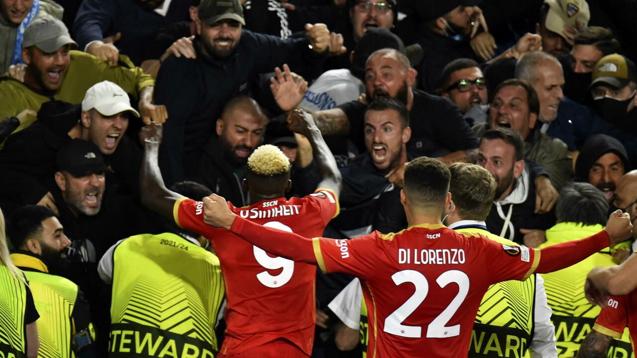 Leicester-Napoli 2-2 | gol | tabellino