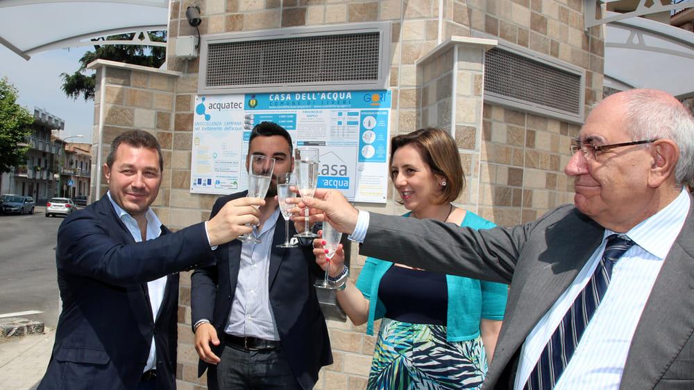 Liveri inaugurata la casa dell 39 acqua - Giusta pressione dell acqua in casa ...
