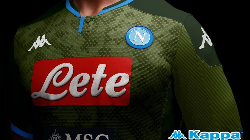 Maglia Napoli 2019-2020   Seconda e terza
