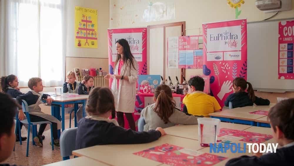 Il Progetto Educativo Euphidra For Kids Nelle Scuole Primarie Della Campania Eventi A Napoli