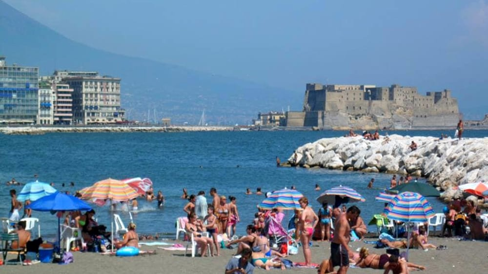 Matrimonio Civile Spiaggia Napoli : Mappatella beach location per il matrimonio civile