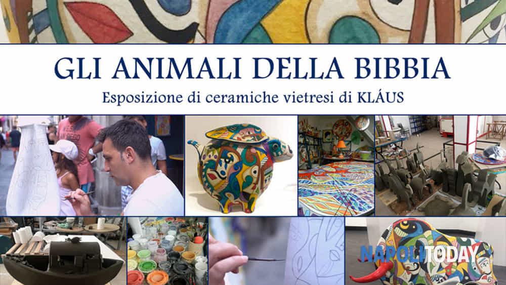 Italia Ceramiche Arzano Na.Gli Animali Della Bibbia Esposizione Di Ceramiche Vietresi Di Klaus
